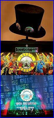 Guns and Roses pinball mod Jersey Jack jjp stern Williams tilt GnR