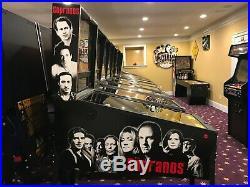 HUO Stern Sopranos Pinball Machine