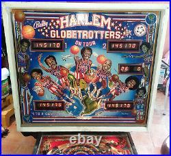Harlem Globetrotters On Tour Arcade Pinball Machine Bally