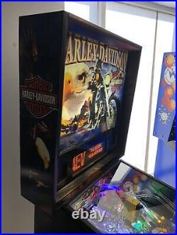 Harley Davidson Machine Stern Pinball Machine LEDs Free Shipping