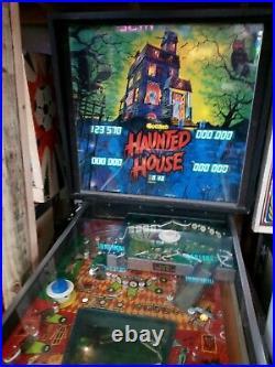 Haunted House Pinball Gottlieb System 80