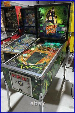 Haunted House Pinball Machine Gottlieb Arcade LEDs Free Shipping
