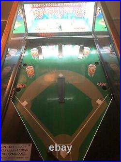 Hitters Rally Pinball redemption machine from Seidel RARE