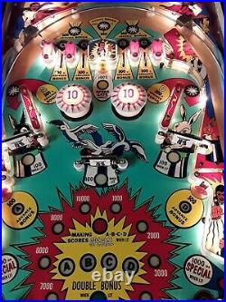Hokus Pokus Pinball Machine By Bally