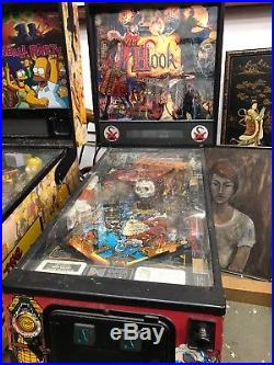 Hook Data East Pinball Machine Warehouse Find Pick Up Only