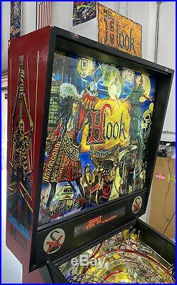 Hook Pinball Machine By Data East Coin Op Arcade LEDS