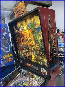 Hook Pinball Machine Data East LEDs Free Shipping Peter Pan Captain Hook