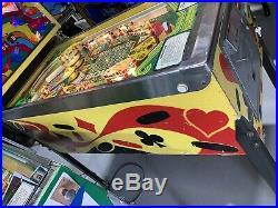 Hot Hand Pinball Machine Stern 1979 Coin Op Rare Free Shipping