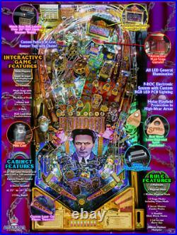 Houdini American Pinball Machine New SAME DAY SHIPPING
