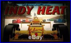 INDY HEAT ARCADE MACHINE 3 PLAYER (Excellent Condition) RARE