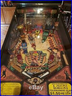 Indiana Jones, 2008 Stern PINBALL MACHINE Excellent MINT