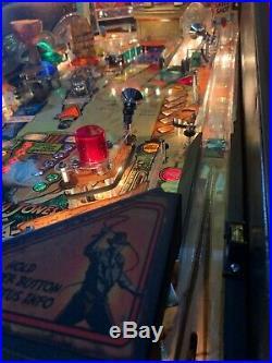 Indiana Jones Pinball Machine by Stern