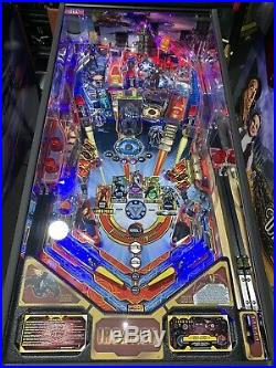 Iron Man Vault Edition 2014 Pinball Machine By Stern Free Shipping Color DMD