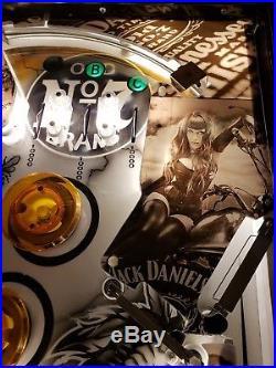 Jack Daniels Williams Themed Gorgar Pinball Machine GAMEROOM FREE SHIP