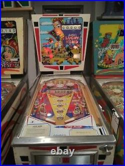 Jacks Open Pinball Machine Coin Op Gottlieb 1977