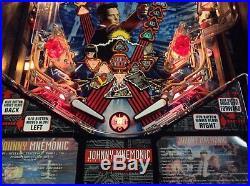 Johnny Mnemonic Pinball Machine by Williams-FREE SHIPPING