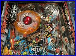 Judge Dredd Pinball Machine Leds Nice Service By Professionals Color DMD Topper