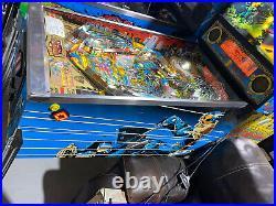 Judge Dredd Pinball Machine Williams Arcade 1993 Free Shipping LEDs