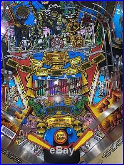 Judge Dredd Pinball Machine Williams Arcade LEDs Free Ship