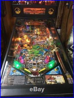 Jurassic Park Pinball Machine By Data East