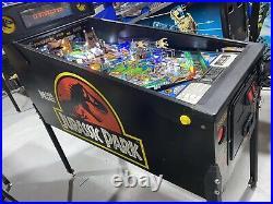 Jurassic Park Pinball Machine By Data East Coin Op Arcade LEDS