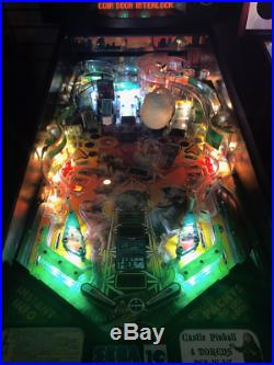 Jurassic Park lost world pinball from Data East with LEDS