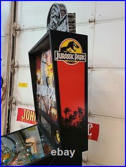 Jurassic Park pinball machine