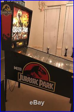 Jurassic Park pinball machine, by Data East