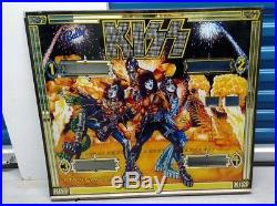 KISS 1978 Bally Pinball Machine with Fantastic Condition Back Glass Aucoin