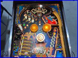 Kings of Steel Pinball Machine Bally Coin Op Arcade Free Shipping