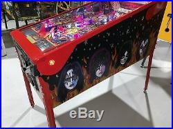 Kiss Limited Edition Pinball Machine By Stern Topper 1 of 600