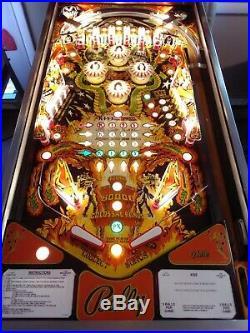 Kiss Pinball Machine