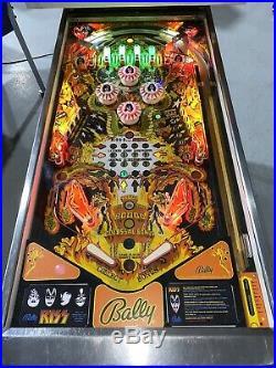 Kiss Pinball Machine Bally 1979 Free Shipping