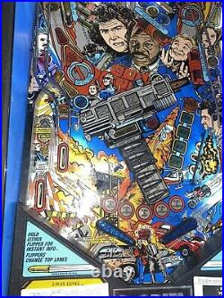 Lethal Weapon Pinball Machine Data East Free Shipping