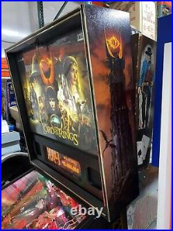 Lord of the Rings Pinball Machine Stern LEDs Free Shipping