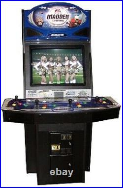 MADDEN ARCADE MACHINE by GLOBAL VR 2004 (Excellent Condition) RARE