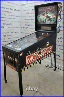 MONOPOLY by STERN COIN-OP Pinball Machine