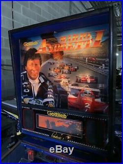 Mario Andretti Pinball Gottlieb