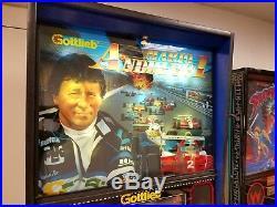 Mario Andretti Pinball No Reserve