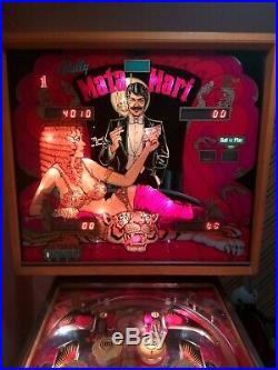Mata Hari 1978 Original Vintage Pinball Machine by Bally FOR SALE