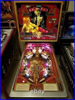 Mata Hari Pinball Machine Original1978 Vintage Bally LED Upgraded Just Serviced