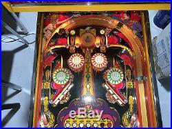 Mata Hari Pinball Machine Restored Coin Op Bally 1978 Free Shipping