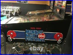 Monday Night Football Pinball Machine Excellent