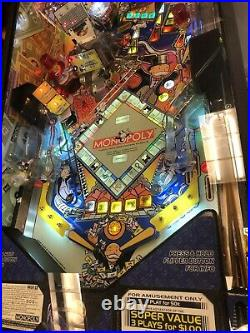 Monopoly Pinball Machine Stern