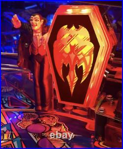 Monster Bash Special Edition Pinball Machine Authorized Chicago Gaming Dealer