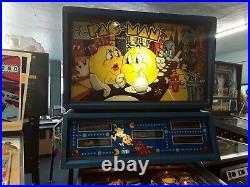 Mr. & Mrs. Pac-Man Pinball Machine by Bally-FREE SHIPPING