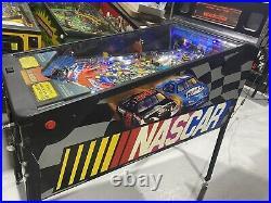 NASCAR Pinball Machine Stern Pinball Machine Arcade LEDs Free Shipping