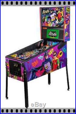 NEW Stern Batman 66 Premium Pinball Machine Free Shipping IN STOCK