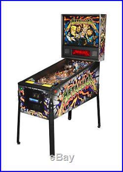 NEW Stern Metallica PRO Pinball Machine Free Shipping