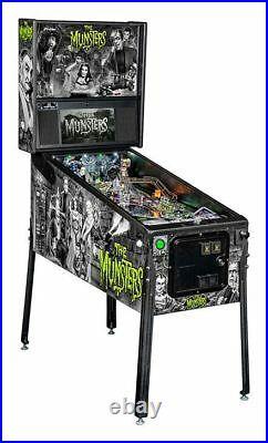 NEW Stern Munsters PREMIUM Pinball Machine Free Shipping